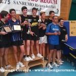 1 Tennis Tavolo doppio maschile Over 2000