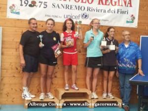 2 Tennis Tavolo - singolo femminile Assoluto