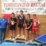 4 Tennis Tavolo singolo misto Juniores