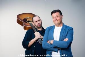 Claudio Lauretta con Sandro Picollo