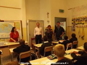 DEMICHELIS E MARTINO IN CLASSE