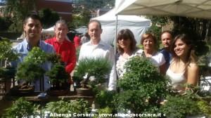 Festival Bonsai - sindaco Andora
