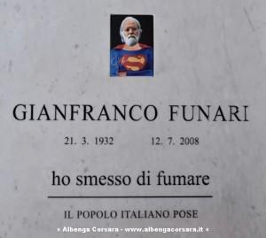 Gianfranco Funari - Lapide contestata