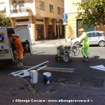 Lavori Segnaletica Albenga 1