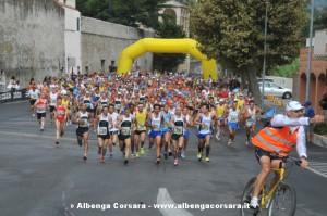 Loano Giro delle Mura 2013 partenza1674