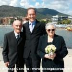 coppia  65 anni matrimonio con sindaco