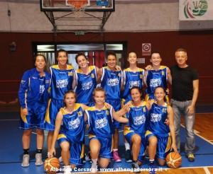 Alassio basket prima squadra fem