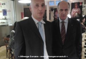 Corrado Passera e Marian Mocanau