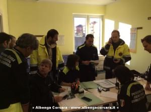 Protezione civile Andora riunone operativa ore 8 16-11-2014