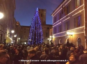 Albero Natale Albenga 2014