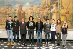 Premiazione giovani sportivi Albenga 23-12-2014