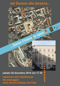Santa Chiara is open 20.12.14