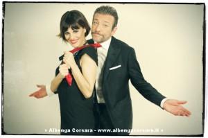 Bianca Guaccero e Sergio Assisi - foto Patrizio Cocco