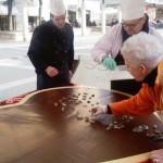 3 Inaugurazione Art Ciocc cuore cioccolato 1