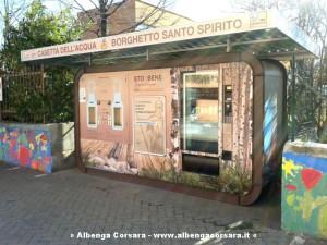 Casetta acqua pubblica Borghetto