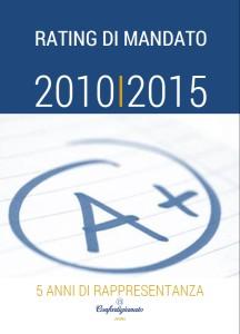 Rating di mandato 2010-2015
