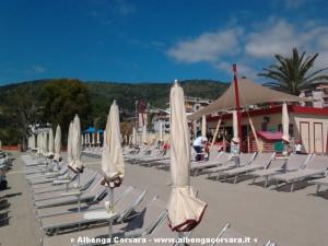 sla Spiaggia libera attrezzata di Andora
