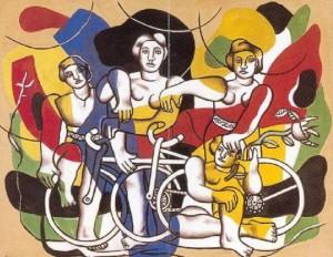 Fernand Leger Quattro ciclisti