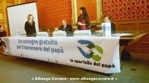 Presentazione Sportello del Papa