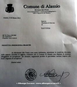 Documento Alassio Profughi