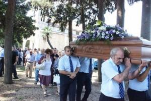 Commozione funerale  Marisa Siffredi