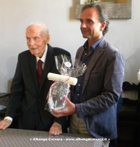 Umberto Croci e sindaco Berruti