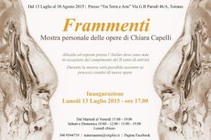 Chiara Capelli mostra Frammenti