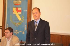 Il sindaco Mauro demichelis in consiglio