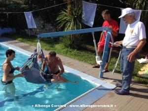 Sollevatore piscina Loano
