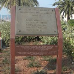 lapide dedicata ai caduti della Servettaz Basevi