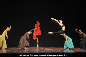 Loano, 29 agosto 2009. Saggio finale dello stage di danza tenuto dal maestro Gino Labate.