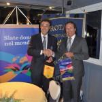 1 Gianni Vernazza ospite del Rotary Club di Albenga