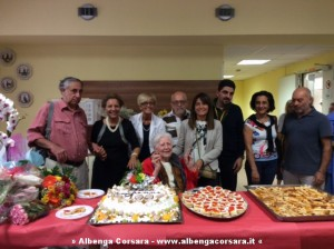100 anni Teresa Caromia