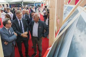 Graziano Delrio (Ministro alle Infrastrutture e Trasporti) inaugura la mostra fotografica di Carlo Borlenghi / * Foto © Studio Borlenghi