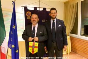 Elio Guglielmelli e Alessandro Colonna