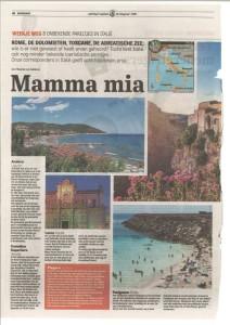 articolo su Andora su De Telegraaf