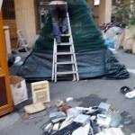 13 Loano costruzione Albero di Natale con materiale di riciclo e differenziata 3