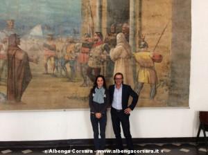 Isabella Vasile e Riccardo Tomatis