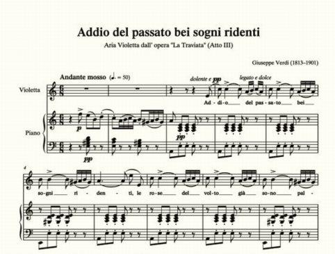 Traviata - Addio del passato