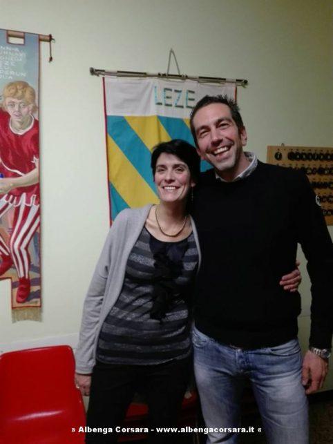 Cristina Battaglia e Roberto Arboscello