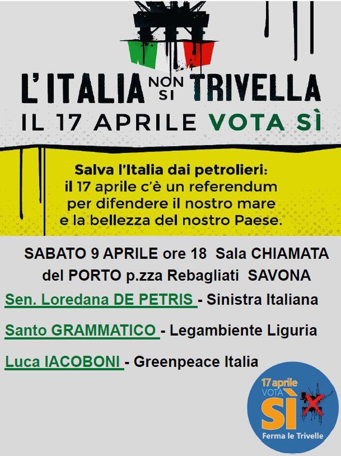 Italia non trivella