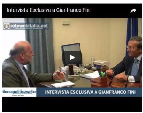 Intervista Fini