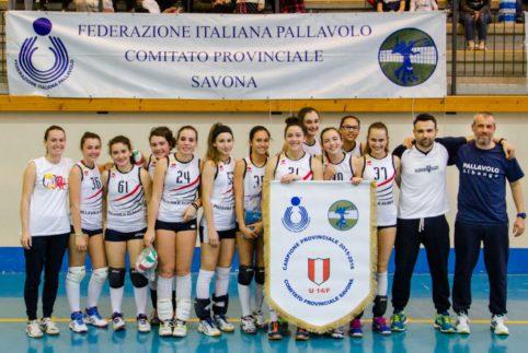 Pallavolo Albenga U14 femminile titolo provinciale