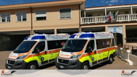 croce bianca due ambulanze nuove