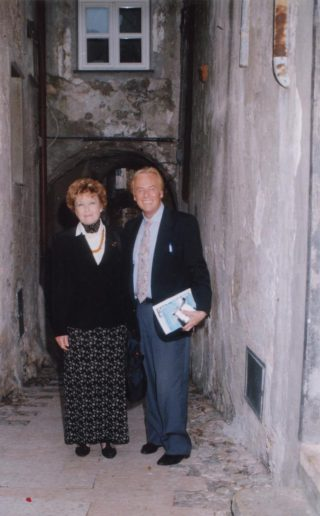 Enrico Rembado con Dacia Maraini