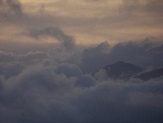 Nubi alpi liguri