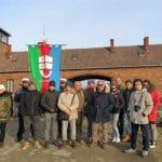 04 Birkenau studenti Ge e Ronco delegazione Liguria