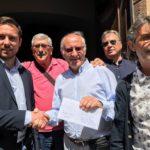 01 Delegazione di Banyoles ad Albenga