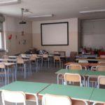 02 aula allestita negli uffici della materna di Via Piana del Merula Andora