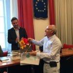11 Delegazione di Banyoles ad Albenga